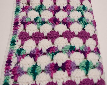 Verigated Larksfoot Baby Blanket