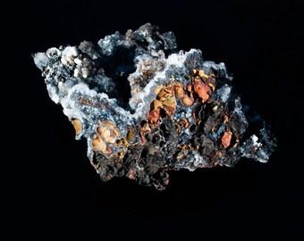 Smithsonite with Goethite, Mina Ojuela, Mapimi, Mexico (BX142015)