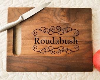Custom Cutting Board, Engraved Cutting Board, Personalized Cutting Board, Wedding Gift, Housewarming Gift, Anniversary Gift, Christmas Gift