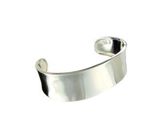 Sterling Silver Cuff Bracelet, silver bracelet, silver cuff,  solid silver jewelry, solid silver cuff, medium size silver cuff