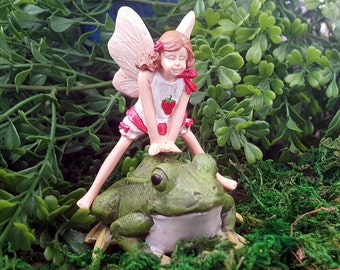 Miniature Fairy Lori and Leap Frog (2pc)