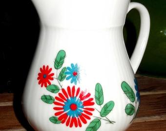 Little Retro Cream/milk Jug by Winterling Porcelain 1960/70s West German