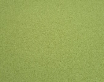 Boiled Wool Dressmaking Fabric Coat Weight - Lime Green