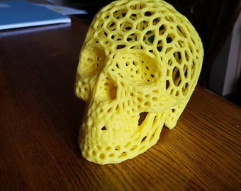 Veroni Style Skull Decoration 3D Printed for Halloween or just year round