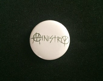 "Ministry 1"" Button"