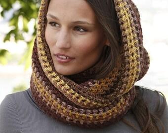 Crochet neck warmer JASMINE immediately available for shipping-Crochet neck warmer 100% wool ready to ship