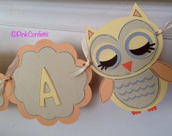 owl name banner