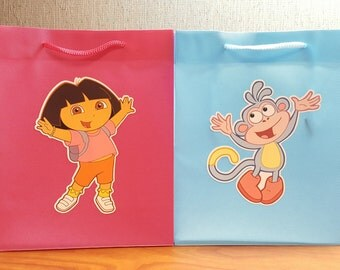 Dora the Explorer Favor Bags