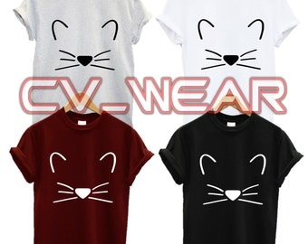kitten t shirt crazy cat lady kitty food love  fashion tumblr funny trend hipster swag dope hype high new all colours unisex