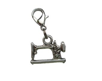 Sewing machine pendant of charms charm bracelet Exchange trailer 3D trailers