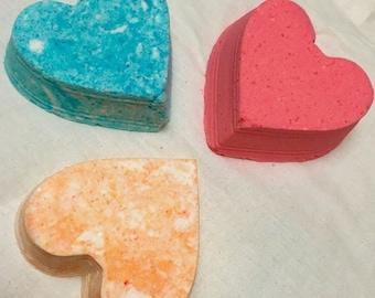 Valentine's Day/Lovers/Heart Bath Bombs