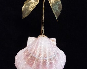 Large Handmade Sea Shell Ornament