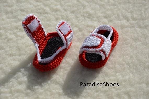 d979c7ae51b low-cost crochet nikecrochet jordan hydro 3 shoes crochet by ParadiseShoes