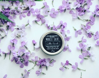LOCAL listing for pick up only. Organic Miracle Salve Healing Ointment.