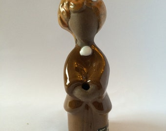 Cute ceramic girl flower girl/ Design Rosa Ljung / Sweden / Scandinavia 1960s