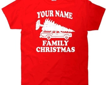 Your Name Family Christmas Toddler T-Shirt - Custom