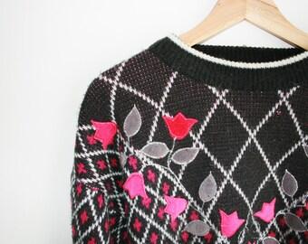 Girly vintage jumper