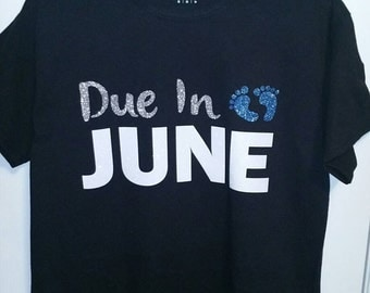 Due In Pregnancy Shirt