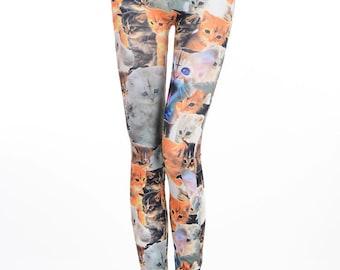 Clowder of Cats Leggings meeeeoooww!!