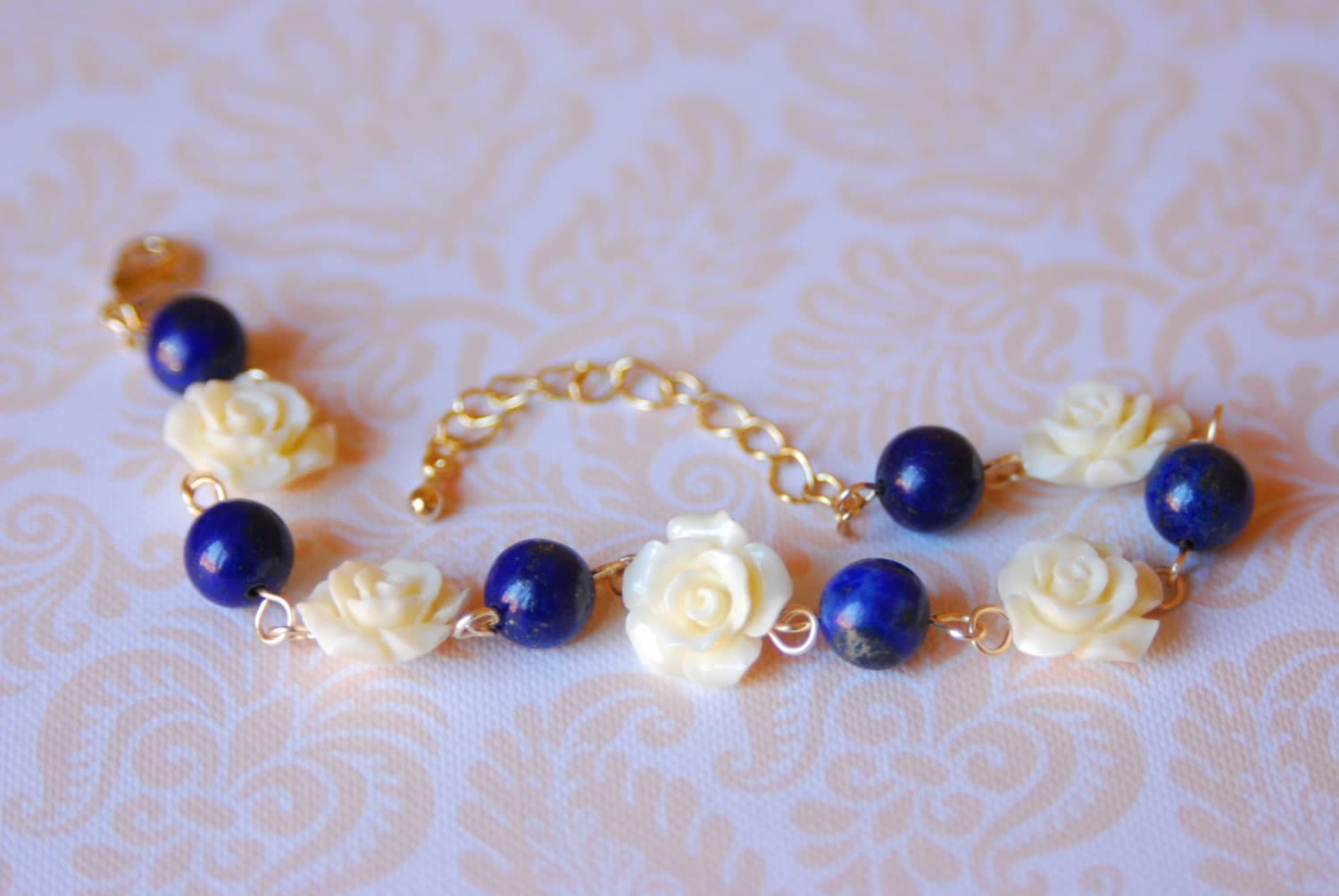 gemstone stone in blue navy bow dark like design a index set