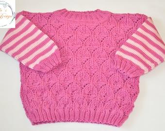 "Sweater ""Annette"" Gr. ca 68-74"