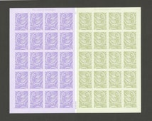 40 Our Wedding Postage Stamps, 20 are 39 Cent and 20 are 63 Cent, Unused # 3998-3999