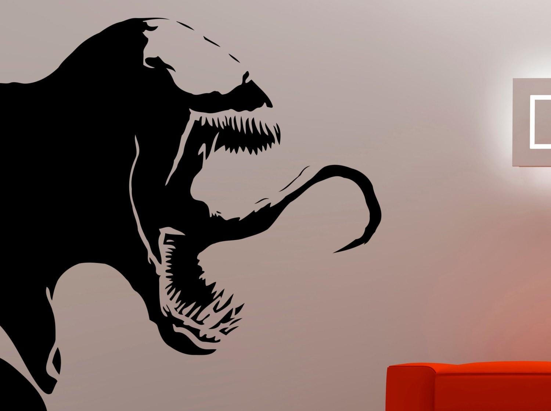 Venom wall decal spiderman stickers marvel comics wall art zoom amipublicfo Choice Image