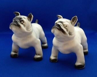 Arabia Lea Von Mickwitz Dogs Statues Figurines Bulldogs Finland
