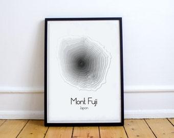 Articles similaires affiche minimaliste mont blanc for Affiche minimaliste