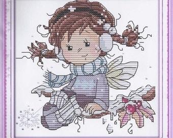 Cross Stitch Kit Little angel DMC threads