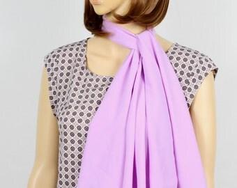 Pastel Purple Scarf