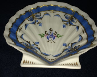 Limoges Hand Painted Soap Dish