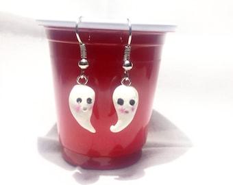 Cute Little Ghost Earrings