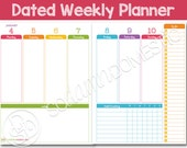 2016 Dated Weekly Planner...