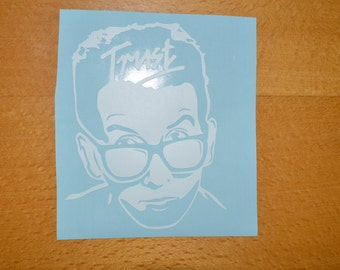 Elvis Costello Trust Vinyl Decal Sticker