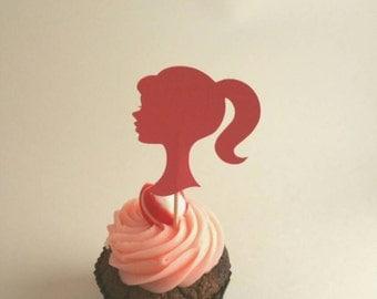 barbie party, barbie cupcake topper, Princess party cupcakes, princess cupcake toppers, Princess party decorations,royal party decorations