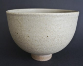 Stoneware ash glazed bowl