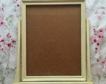 Vintage Wooden Swinging Picture Frame