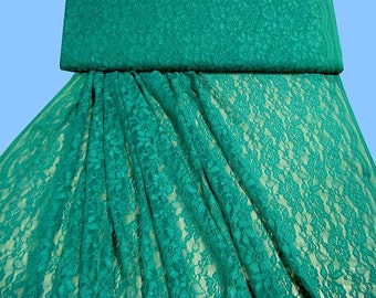 Patterned lace green... 2ND CHOICE (504699)