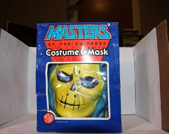 Masters of the Universe Skeletor Costume and Mask NEW