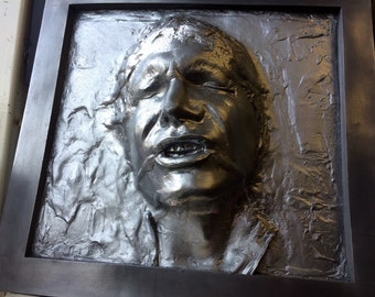 Han Solo in Carbonite Framed
