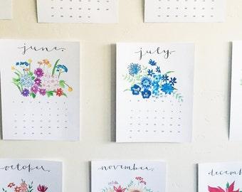 Wildly Lovely 2016 Calendar