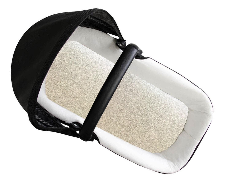 Handmade Moses Basket Bedding : Solid bassinet sheet stroller fitted baby bedding