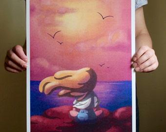 Sunset - A3 Print