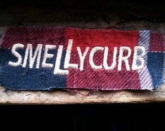 Smelly Curb Skateboard Patch / Vintage 1990 Skate / Punk
