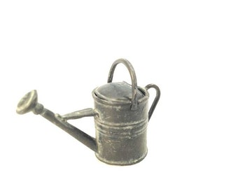 Miniature fairy garden watering can, mini watering can, miniature garden, fairy garden, miniature landscape, watering can, pixies, fairies