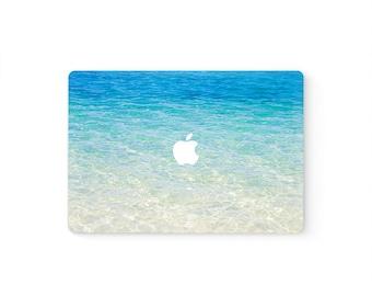 MacBook Top Front Lid Cover MacBook Decal MacBook Skin MacBook Sticker Air/Pro/Retina Touch Bar 11 12 13 15 17 inch   Blue Sea Ocean