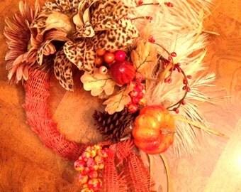 Mini-Fall Wreath