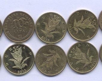 CROATIA COIN 10 LIPA