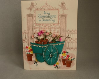 """Vintage """"Sweetest Day"""" Greeting  Card"""